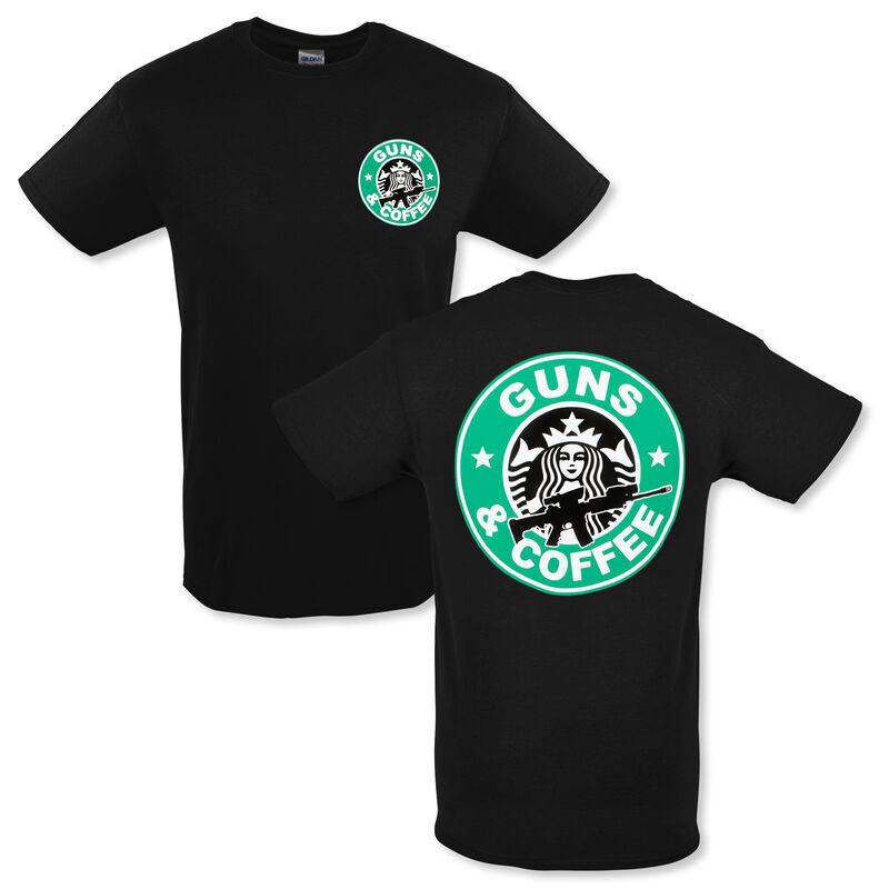 Guns and Coffee T-Shirt
