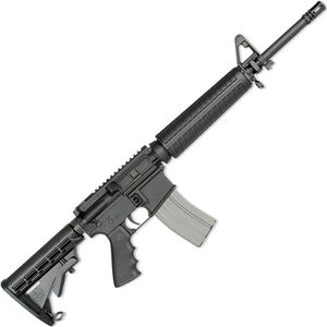 "Rock River LAR-15 Elite CAR A4 5.56 NATO AR-15 Semi Auto Rifle 16"" Chrome Lined Barrel 30 Rounds Mid-Length Handguard Collapsible Stock Black Finish"