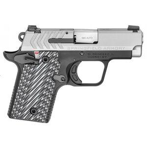 "Springfield Armory 911 .380 ACP Semi Auto Pistol 2.7"" Barrel 7 Rounds Bitone Finish G10 Grips"