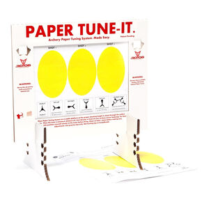 .30-06 Outdoors Paper Tune-It System Tuner Frame 10 Sheets of Tuner Paper PT-1