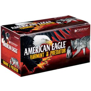 American Eagle .22 Hornet Ammunition 50 Rounds JHP 35 Grains