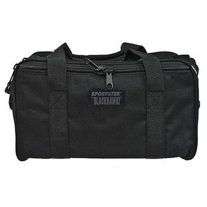 """BLACKHAWK! Sportster Pistol Range Bag 16""""x6.75""""x8"""" Polyester Black 74RB02BK"""