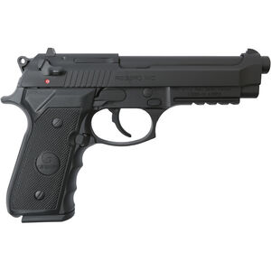 "EAA GiRSAN Regard MC 9mm Luger Semi Auto Pistol 4.9"" Barrel 18 Rounds Beretta 92 Style Pistol with Accessory Rail Ambidextrous Safety Black Finish"