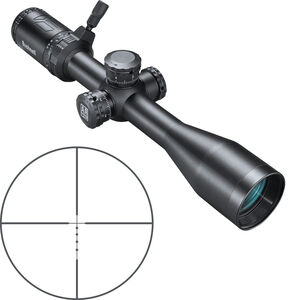 "Bushnell AR Optics 4.5-18x40 Riflescope Drop Zone 223 SFP Reticle 1"" Tube Side Parallax Adjustment Second Focal Plane Black"