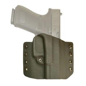 Comp-Tac Warrior Belt Holster Fits M&P Shield 9/40 Right Hand Kydex Black