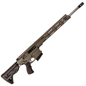 "Diamondback DB10 AR Style Semi Auto Rifle 6.5 Creedmoor 20"" Stainless Steel Barrel 20 Rounds 15"" M-LOK Free Float Hand Guard Collapsible Stock Flat Dark Earth"