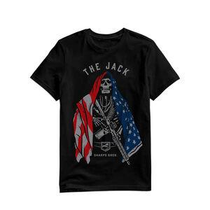 Sharps Bros The Jack Men's Short Sleeve T-Shirt 50/50 Blend Black