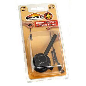 Harvester Muzzleloaders .45 to .58 Caliber Bullet Starter and Palm Saver