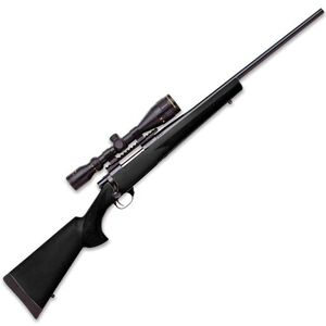"Howa Hogue Bolt Action Rifle with Nikko Stirling GameKing 3.5-10x42mm Riflescope .30-06 Springfield 22"" Barrel 5 Rounds Black Hogue Overmold Stock Blued Finish HGK63207+"
