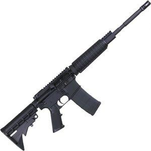 "Anderson AM15 Optic Ready AR-15 Semi Auto Rifle 5.56 NATO 16"" Barrel 30 Rounds A2 Handguard Collapsible Stock RF85 Treated Black"