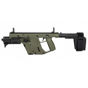 "Kriss USA Kriss Vector Gen II SDP-SB Enhanced .45 ACP Semi Auto Pistol 6.5"" Barrel 13 Rounds Pistol Stabilizing Brace OD Green Finish"