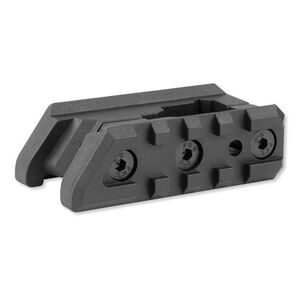 CAA AR-15/M16 Dual Picatinny Rail Front Sight Mount Black FSM15P