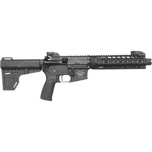 "CFA Katy-15 AR-15 Semi Auto Pistol 5.56 NATO 7.5"" Barrel 30 Rounds Free Float Quad Rail KAK Blade Brace Black"