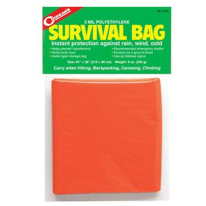 "Coghlans Emergency Survival Bag 84""x36"" Orange 8765"
