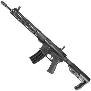 "Windham Weaponry .223 Superlight Semi Auto Rifle 5.56 NATO 16"" Superlight Barrel 30 Rounds 13"" Free Float M-LOK Compatible Handguard MFT Minimalist Collapsible Stock Black"