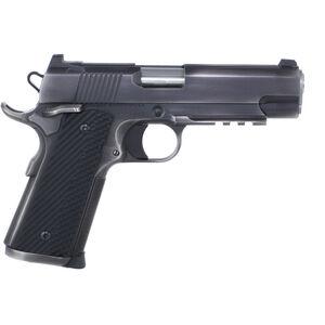 """Dan Wesson Specialist .45 ACP 1911 Semi Auto Pistol 4.25"""" Barrel 8 Rounds Commander Profile G10 Grips Distressed Duty Finish"""