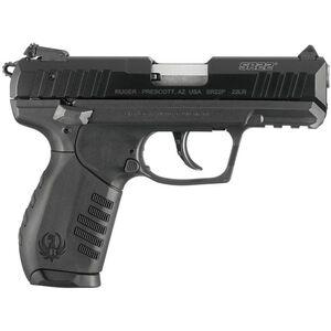 "Ruger SR22 Semi Auto Pistol .22 Long Rifle 3.50"" Barrel 10 Rounds Adjustable Sights"