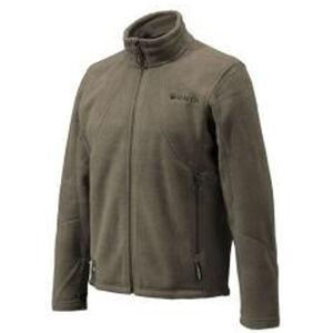 Beretta Men's Track Top Sweater Long Sleeve Size Medium Wool Blend Dark Green