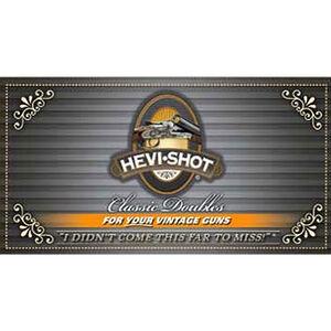 """Hevi-Shot Classic Doubles 12 Gauge Ammunition 10 Rounds 2-3/4"""" #7.5 Lead Free Shot 1-1/8 Ounce 1150 fps"""