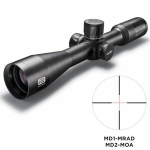 EOTech VUDU 3.5-18x50 Precision Riflescope MD-2 Illuminated Reticle 34mm Tube FFP Flat Black VUDU.3-18.FFP.MD2