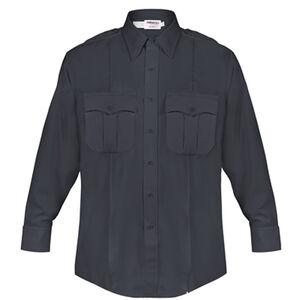 Elbeco DutyMaxx Men's Shirt Long Sleeve Polyester Rayon 18x37 Midnight Navy