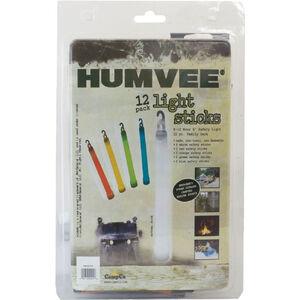HUMVEE Lightsticks 12 Pack Assorted Colors HMV-6-FP12