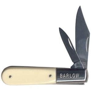 """Schrade Imperial """"Jackmaster Barlow"""" Folding 2.4"""" Plain Clip and Pen Point Stainless Steel Blade Delrin Handle 278-CP"""