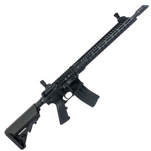 "Diamondhead Model 6 5.56 NATO AR-15 Semi Auto Rifle 16"" Barrel 30 Rounds VRS T-556 Fee Float M-LOK Hand Guard Collapsible Stock Matte Black"