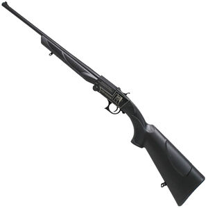 "Iver Johnson IJ700 Single Shot Break Action Shotgun .410 Bore 18"" Barrel 1 Round 3"" Chambers Synthetic Stock Black Finish"
