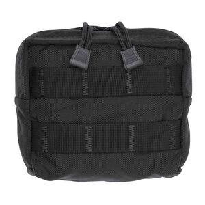 "Tac Shield MOLLE Zippered Utility Pouch Nylon 5""x5""x2"" Black T4101BK"