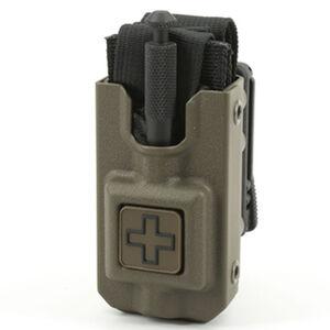 Eleven 10 RIGID TQ Case for SOFTT/SOFTT-W Cross Front Polymer Tek Lok Plain Finish Ranger Green