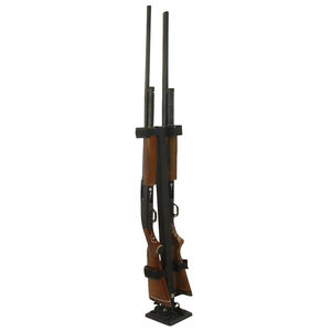 Rugged Gear Removable Floor Mount Two Gun Holder