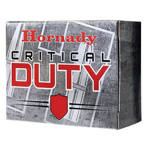 Hornady Critical Duty .357 SIG Ammunition 20 Rounds FlexLock 135 Grains 91296
