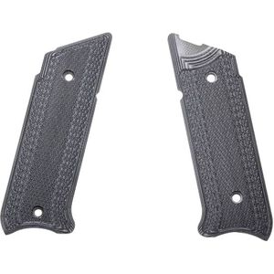 Pachmayr G10 Tactical Grips Ruger MK IV Gray/Black Checkered 61076