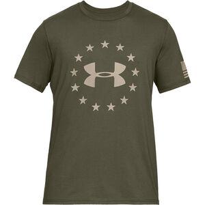 Under Armour Freedom Logo Men's T-Shirt Cotton Blend