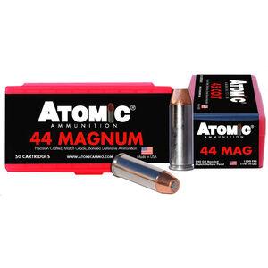 Atomic .44 Magnum Ammunition 50 Rounds 240 Grain Bonded Match Hollow Point 1500fps