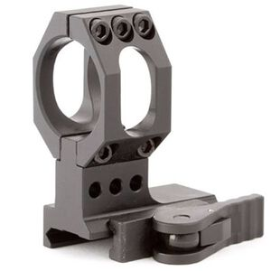 American Defense Mfg. Aimpoint 30mm High Mount with QD Lever 6061 T6 Aluminum Black AD-68H