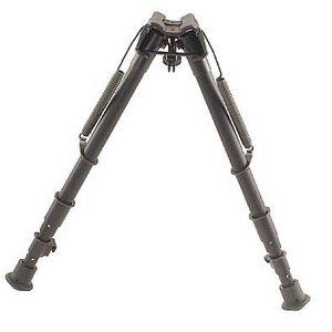 "Harris Ultra-light Bipod Three Piece 13.5-27"" Sling Swivel Mount Black 1A225C"