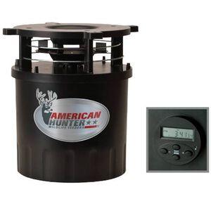 American Hunter R-Pro Digital Feeder Kit and Varmint Guard Digital Clock Timer and Varmint Guard Black 30591