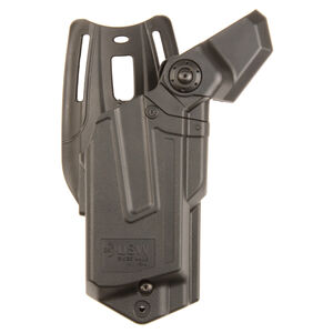 Brugger & Thomet USW-A1 Belt Holster Level III Retention Injection Molded Polymer Construction Matte Black Finish