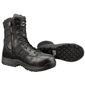 "Original S.W.A.T. Metro Safety Boots 9"" Waterproof Side Zip Leather/Nylon Rubber Size 12 Wide Black 129101-W12.0/EU46"