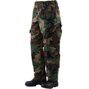 Tru-Spec Men's Tactical Response Uniform Pants Small Woodland