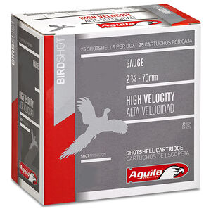 "Aguila Ammunition High Velocity 20 Gauge 250 Rounds 2 3/4""  #6 Shot Lead 1 Ounce"