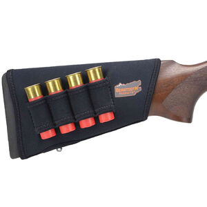 Beartooth Products StockGuard 2.0 Right Hand Shotgun Stock Cover with Ammo Carrier Black