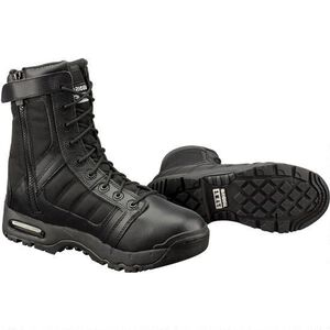 "S.W.A.T. Metro Air 9"" Men's Size 5R Leather/Nylon Black"