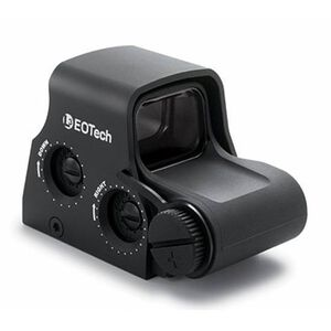 EOTech EXPS2-0 Holographic Weapon Sight 65 MOA Circle and 1 MOA Dot Not Night Vision Compatible QD Lever CR123 Picatinny Black