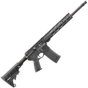 "Ruger AR-556 AR-15 Semi-Auto Rifle 16"" Barrel 30 Rounds M-LOK Handguard Black"