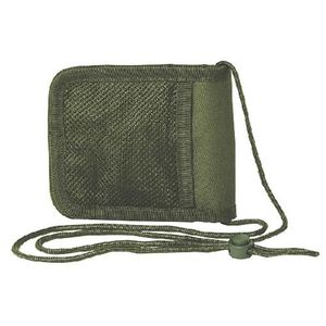 "Voodoo Tactical Travel Passport Holder/Neck Wallet 6"" x 5"" Closed Size Olive Drab Green 002604000"