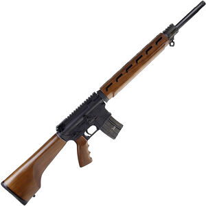 "Alexander Arms Classic Hunter .50 Beowulf AR-15 Semi Auto Rifle 16.5"" Threaded Barrel 7 Rounds Walnut Furniture Black Finish"