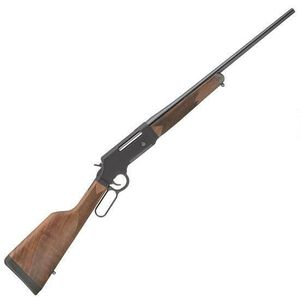"Henry Long Ranger Lever Action Rifle .308 Winchester 20"" Barrel 4 Rounds No Sights Drilled/Tapped Receiver Solid Rubber Recoil Pad American Walnut Stock Blued Finish"